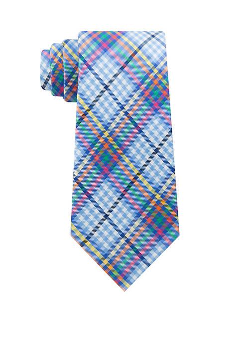 IZOD Beekman Check Tie