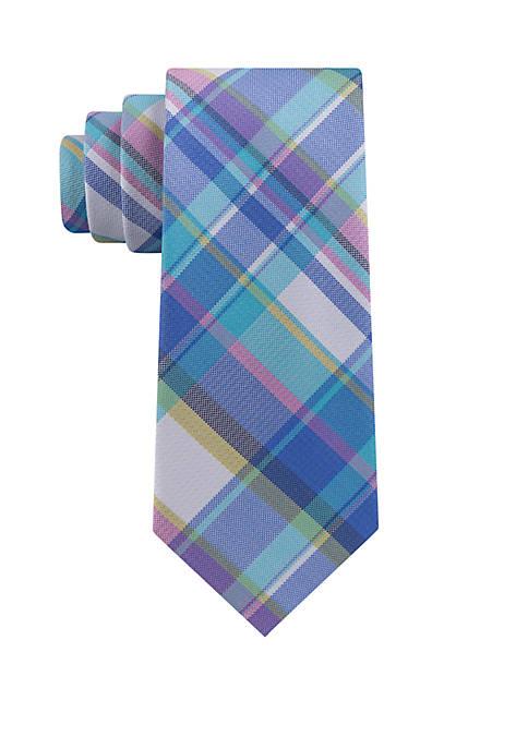 IZOD Swansboro Plaid Necktie