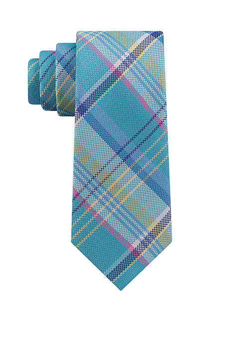Bogue Plaid Necktie