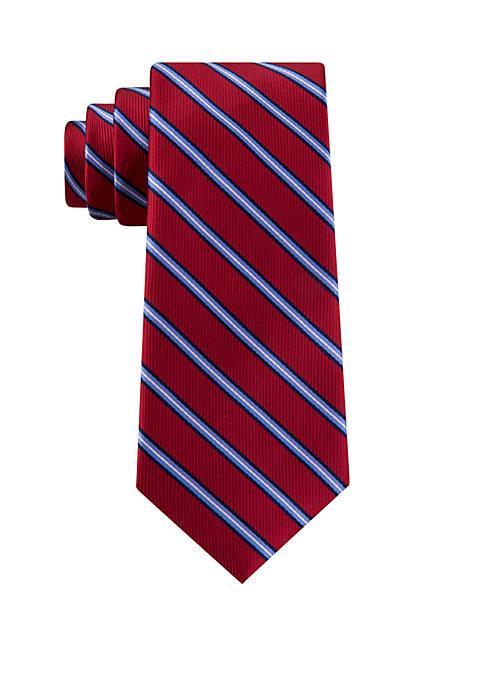 IZOD Scoreboard Stripe Tie