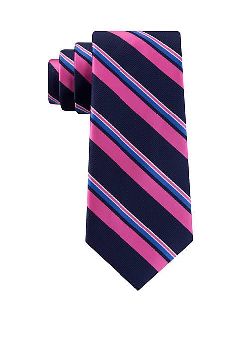 IZOD Showdown Stripe Necktie