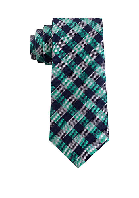 IZOD Camp Gingham Necktie