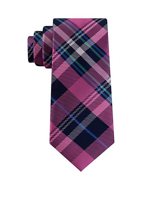 IZOD Harvest Plaid Necktie