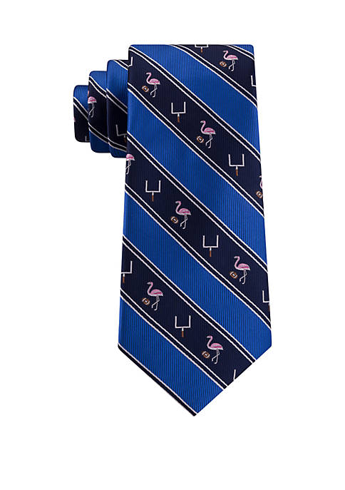 Flamingo Touchdown Necktie