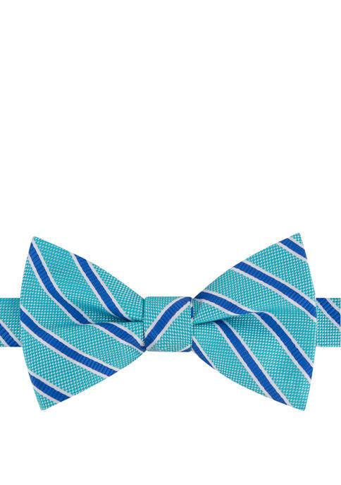 IZOD Webster Stripe Bow Tie