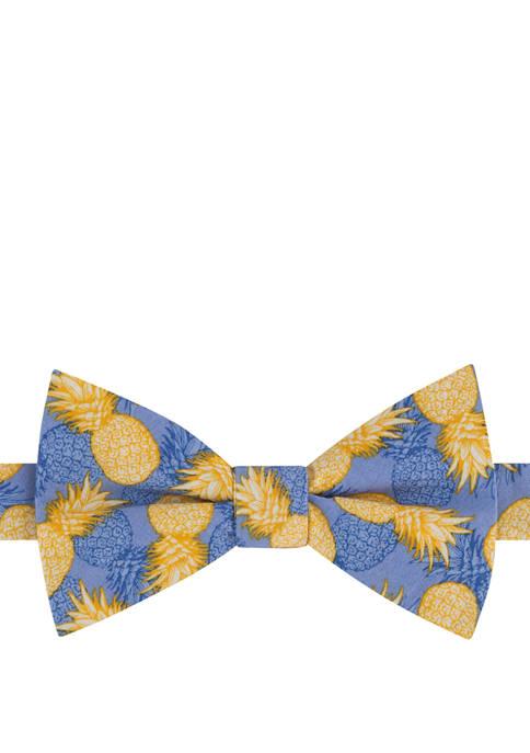 IZOD Tropic Pineapple Pre Tied Bow Tie
