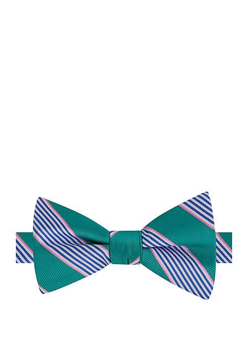 IZOD Easley Stripe Bow Tie
