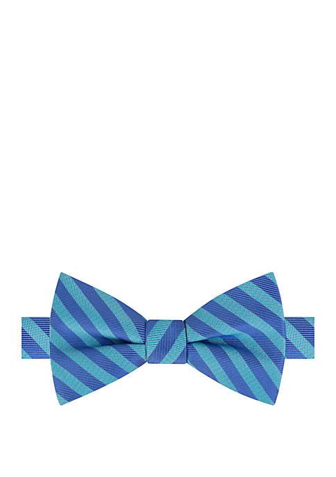 IZOD Varick Stripe Bow Tie