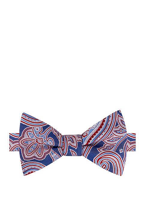 IZOD Crascoke Paisley Bow Tie