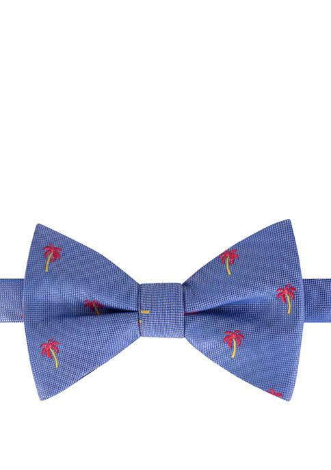IZOD Oxford Palm Tree Bow Tie