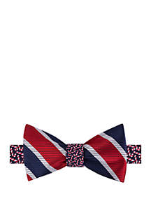 Micro Candy Cane Bow Tie