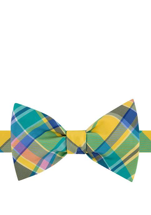 IZOD Madras Print Bow Tie