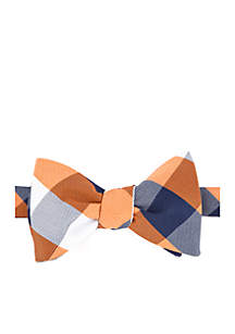 Redhawk Plaid Bow Tie