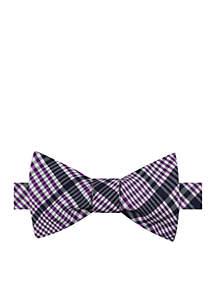 Finland Plaid Bow Tie