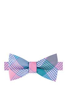 IZOD Brookland Plaid Bow Tie