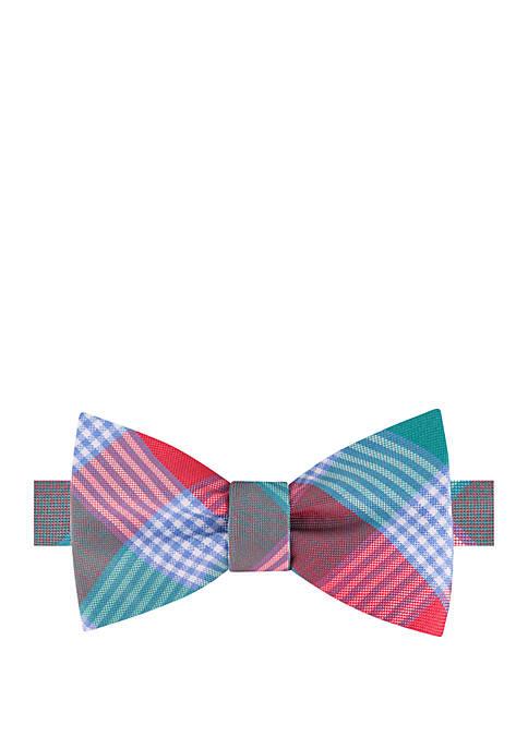 Brookland Plaid Bow Tie