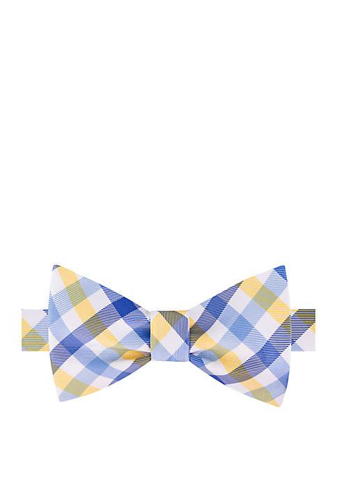 IZOD Lexington Gingham Bow Tie