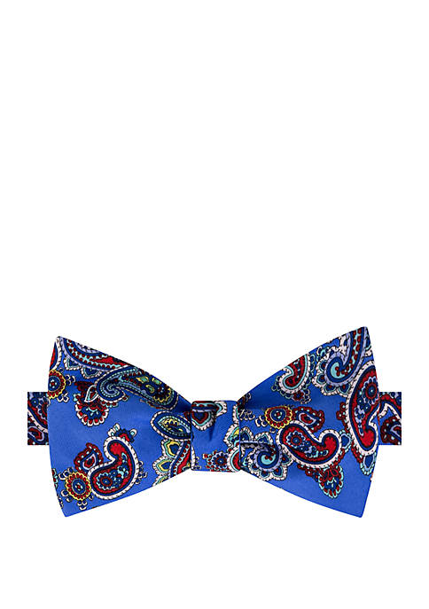 Paisley Cluster Bow Tie