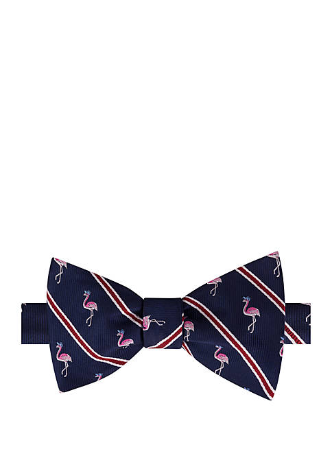 IZOD Sports Fan Flamingo Bow Tie