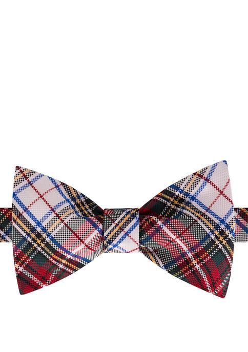 IZOD Tartan To Be Tied Bow Tie