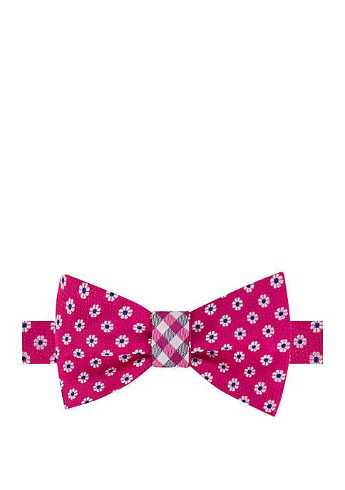 IZOD Pimlico Floral Reversible Bow Tie