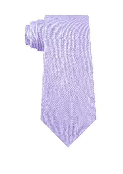 Calvin Klein Two By One Solid Necktie