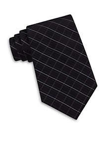 Calvin Klein Etched Windowpane Tie