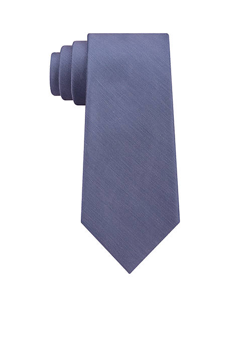 Calvin Klein Silk Cotton Solid Tie