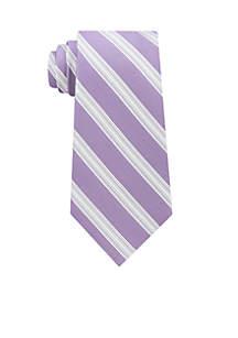 Creme Stripe Tie