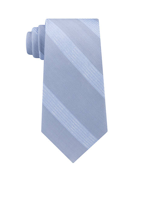 Calvin Klein Cloud Stripe Neck Tie
