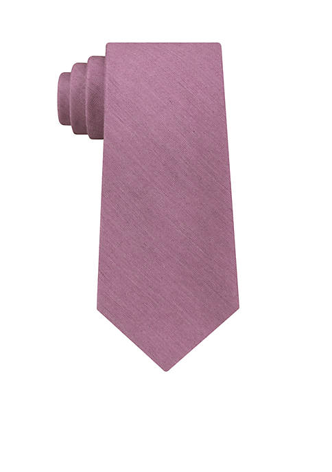 Calvin Klein Brushed Solid Neck Tie