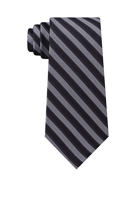 Calvin Klein Modern Bar Stripe Tie