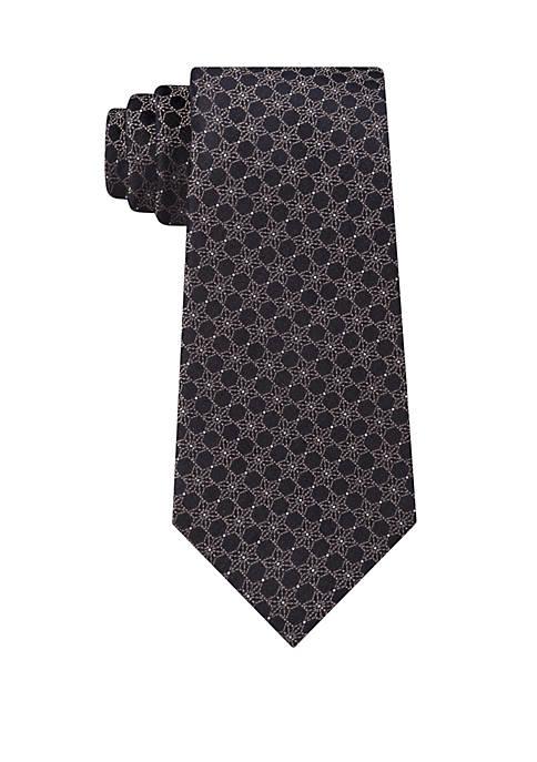 Calvin Klein Star Medallion Print Tie