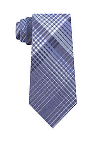 Bold Degrade Plaid Neck Tie