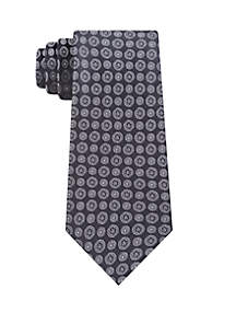 Modern Medallion Neck Tie