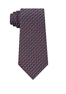 Calvin Klein Molten Medallion Print Tie