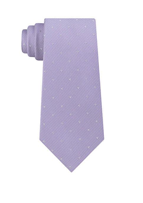Calvin Klein Reflective Dot Neck Tie