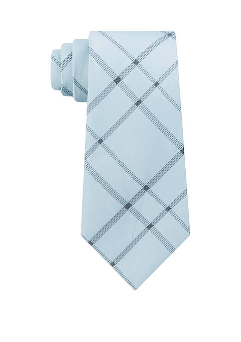 Calvin Klein Stitch Plaid Tie