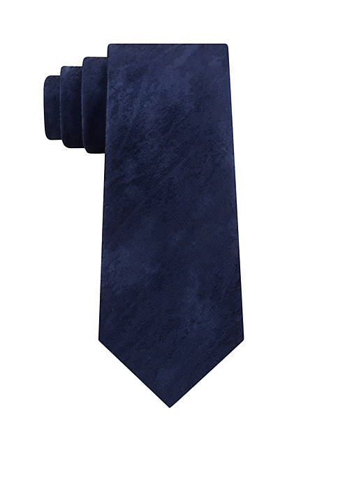 Calvin Klein Abstract Brush Strokes Necktie