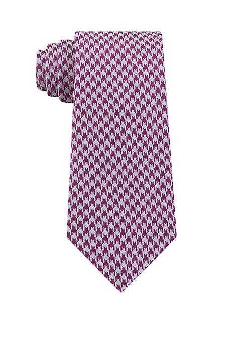 Calvin Klein Jewel Houndstooth Necktie
