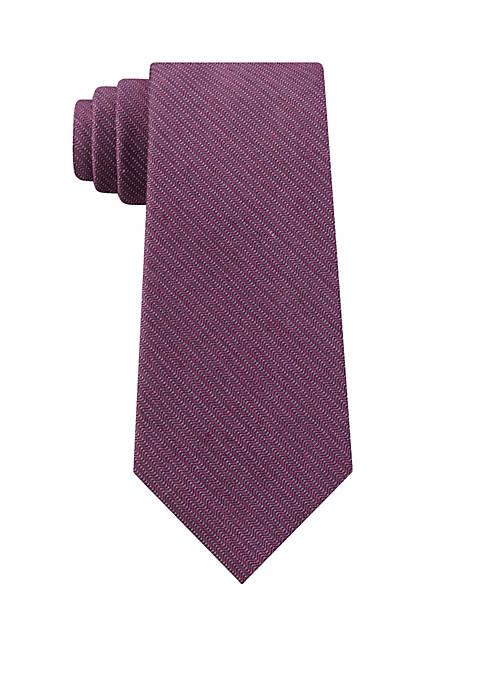 Calvin Klein Mid Herringbone Tie