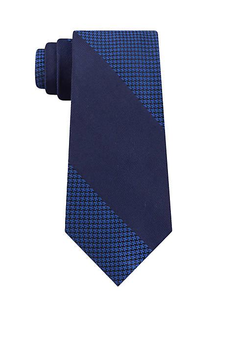Calvin Klein Placed Micro Geo Necktie
