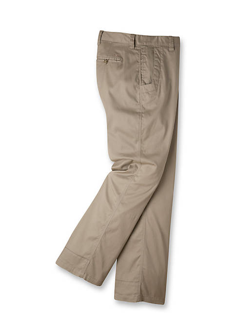 Mens Lake Lodge Twill Pant Relaxed Fit