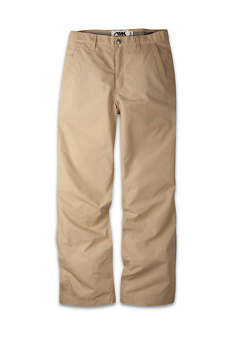 Mens Poplin Pant Relaxed Fit