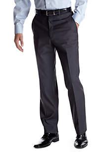 Classic Fit Grey Solid Suit Separate Pants