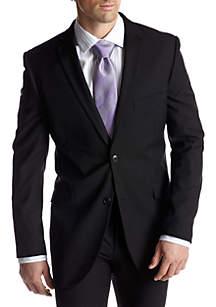 Slim Fit Black Suit Separate Coat