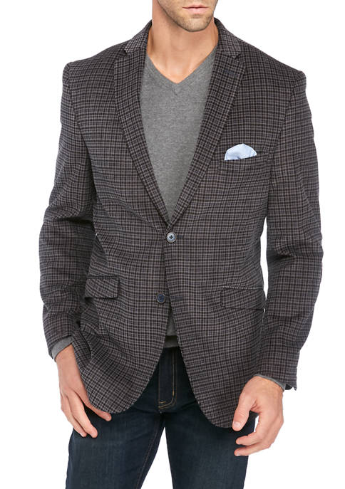 James Campbell Mens Fancy Sport Coat