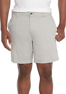 Stretch Twill Medina Gray Shorts