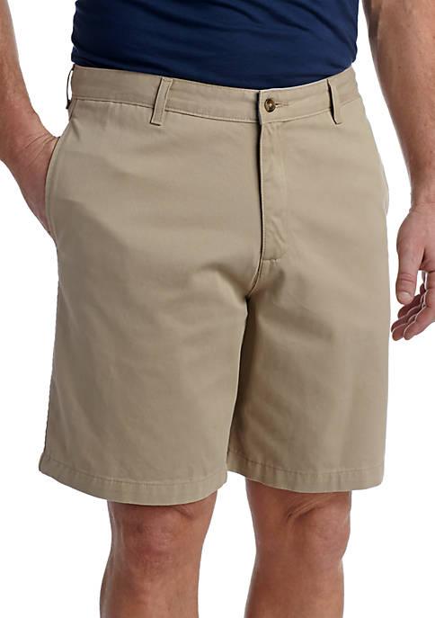 Saddlebred® Big & Tall Flat Front Shorts