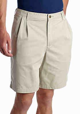 f18c74aee2 Chaps Big & Tall Flat Front Printed Twill Shorts · Saddlebred® Big & Tall  Stretch Twill Short ...